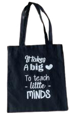 Tas katoen | It takes a big heart to teach little minds