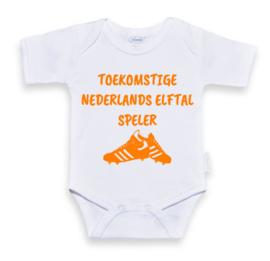 Rompertje  Wit | Toekomstige nederlands elftal speler