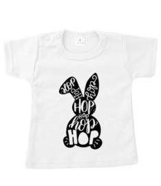 T-Shirt  -hop hop konijntje