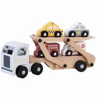 Houten transportwagen met/zonder naam