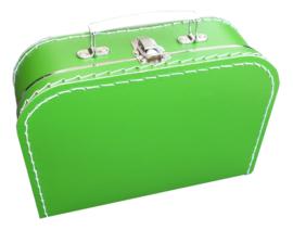 Kinderkoffertje (met naam) - Groen