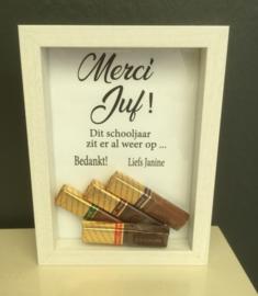Fotolijstje Merci Juf / Meester