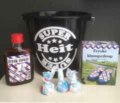 "Fries cadeau set ""Super heit/pake"""
