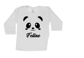 Shirt met naam / panda