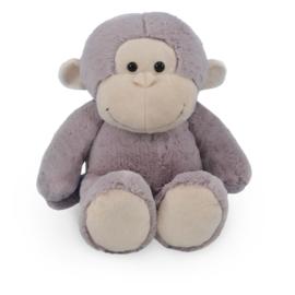 Knuffel aap 30 cm met bedrukt t-shirt