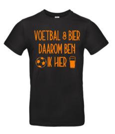 VOLWASSEN T-Shirt | Voetbal & Bier