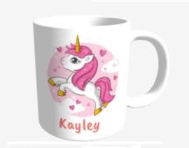 Unicorn mok roze - Kayley