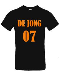Volwassen T-Shirt | Naam + Rugnummer
