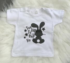 T-Shirt  - Konijntje Too HIP to Hop Ho