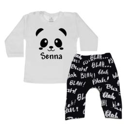Setje Panda met naam