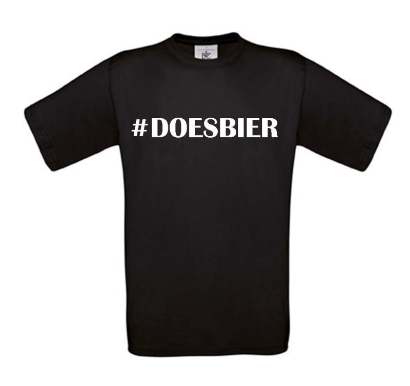 T-shirt   #DOESBIER