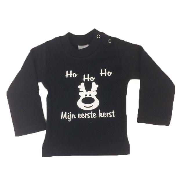 Shirt  HO HO HO mijn eerst kerst