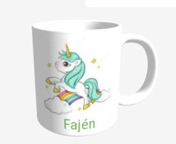 Unicorn mok Groen - Fajén