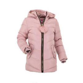 80 t/m 92 Bontkraag Jas Meisjes met imitatiebont  Winterjas roze