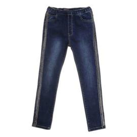 134 t/m 164 Jeans Girls Stretch met steentjes