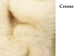 Cream winterjas Supersoft Fur Bontkraag winterjas