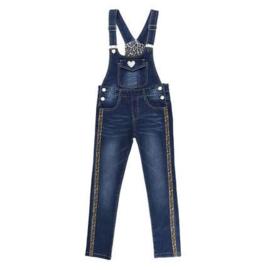 140 146 152   Jumpsuit Jeans Girls Stretch