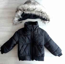 Winterjas heren met grote bontkraag | GEEN RETOUR