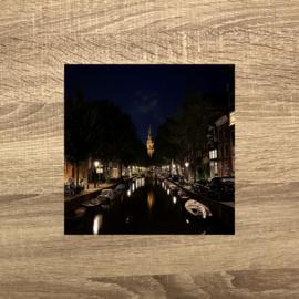 de Amstel bij nacht
