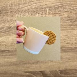 Koffie + stroopwafel
