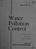 Water Pollution Control 1968 - 1982