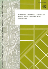Planning of service centres in rural areas of developing countries