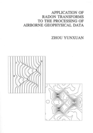 Application of Radon transforms to the processing of airborne geophysical data