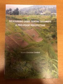 Measuring land tenure security