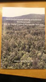 Quantitative remote sensing of forest leaf functional traits