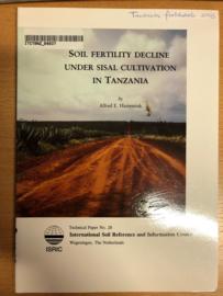 Soil fertility decline under sisal cultivation in Tanzania