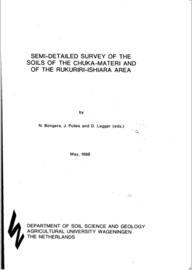 Semi - detailed survey of the soils of the Chuka - Materi and of the Rukuriri - Ishiara area