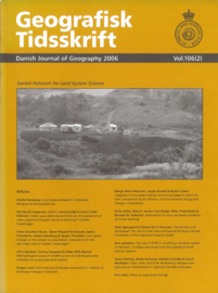 Geografisk Tidsskrift - Danish Journal of Geography 2006 106(2)