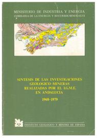 Sintesis de las investigaciones geologico-mineras realizadas por el I.G.M.E. en Andalucia 1968-1979