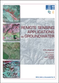 Remote sensing applications to groundwater