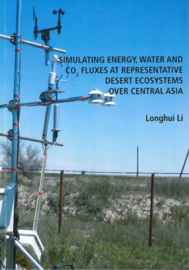 Simulating energy, water and co2 fluxes at representative desert ecosystems over Central Asia