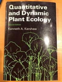 Quantitative and Dynamic Plant Ecology