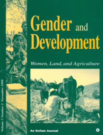 Gender and development Vol. 7, No. 3