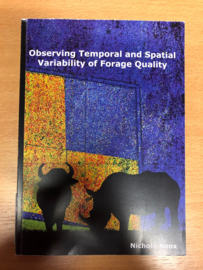 Observing temporal and spatial variability of forage quality