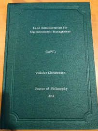 Land administration for macroeconomic management