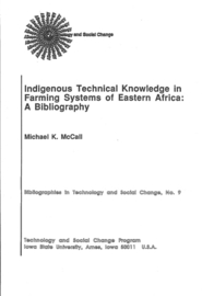 Indigenous technical knowledge in farming systems of Eastern Africa