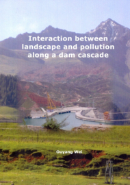 Interaction between landscape and pollution along a dam cascade