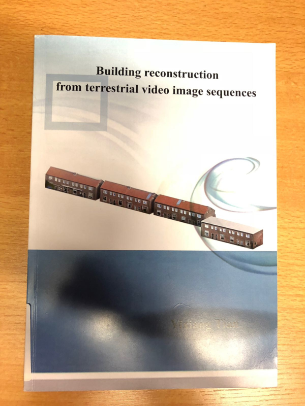 Building reconstruction from terrestrial video image sequences