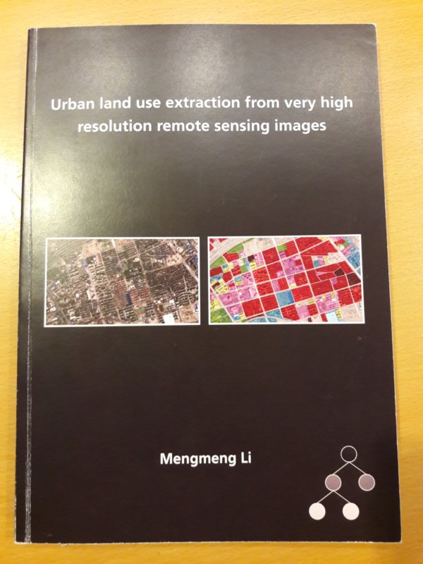 Urban land use extraction from very high resolution remote sensing images