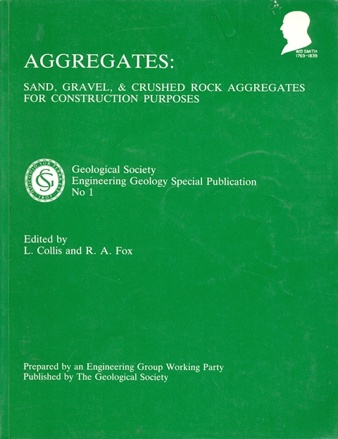 Aggregates: sand, gravel and crushed rock aggregates for construction purposes