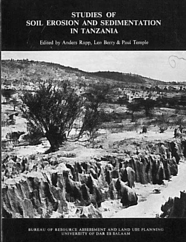 Studies of soil erosion and sedimentation in Tanzania