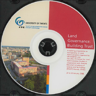 Land governance : building trust