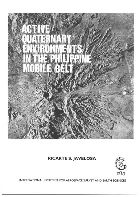Active quaternary environments in the Philippine mobile belt