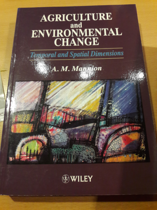 Agriculture and Environmental Change
