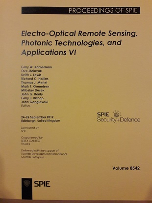 Electro - Optical Remote Sensing, Photonic Technologies, and Applications VI