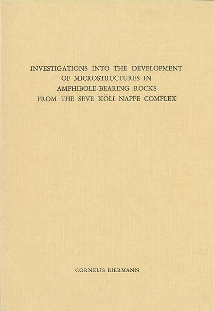 Investigations into the development of microstructures in amphibole-bearing rocks from the Seve Koli Nappe complex